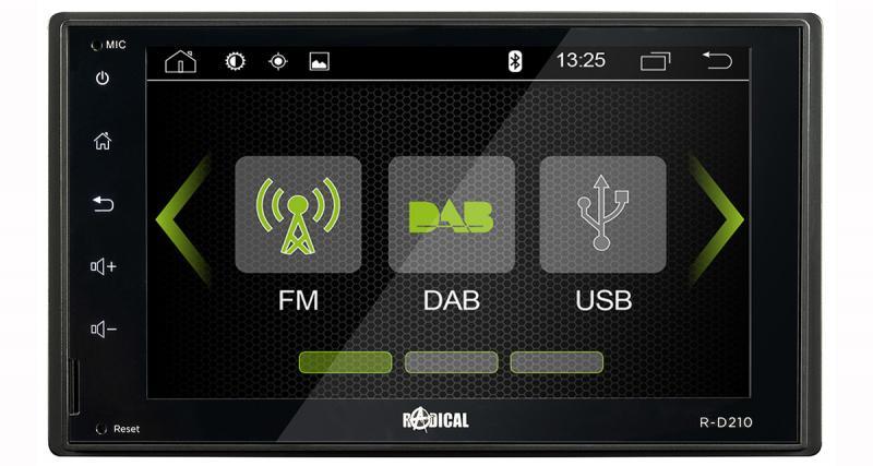 Radical commercialise un autoradio multimédia Android à prix canon