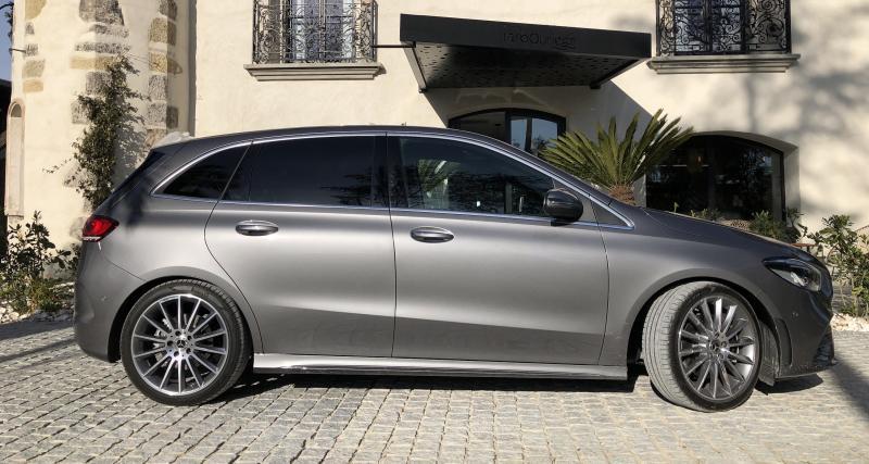 Mercedes Classe B : nos photos de l'essai de la 3e génération