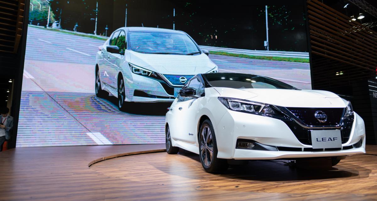 Nissan Leaf : la Wallbox, cette semaine, c'est cadeau !