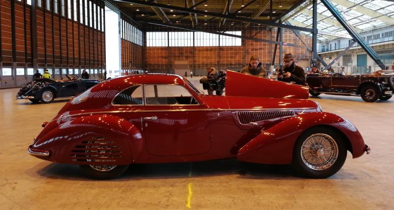Vente Artcurial Rétromobile: la star Alfa Romeo 8C 2900B en vidéo