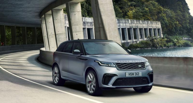 Range Rover Velar SVAutobiography : cap sur la puissance