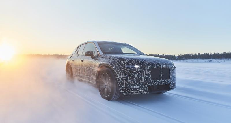 BMW iNEXT: 1ères photos officielles du grand SUV électrique et autonome