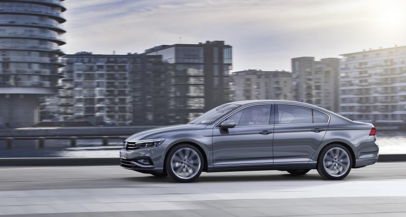 Volkswagen Passat: restylage technologique