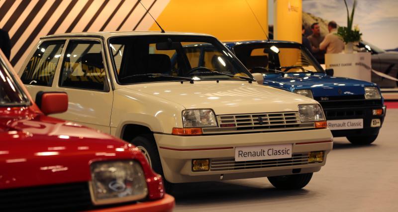 Rétromobile: toutes les photos du stand Renault Classic