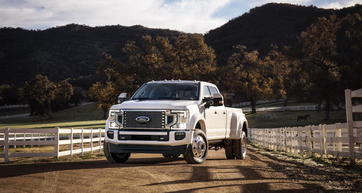 Ford Super Duty : le plein de nouveautés pour la gamme pick-up de Ford