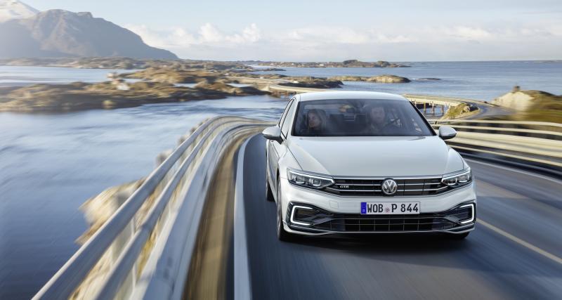 Passat GTErestylée : plus électrique que jamais