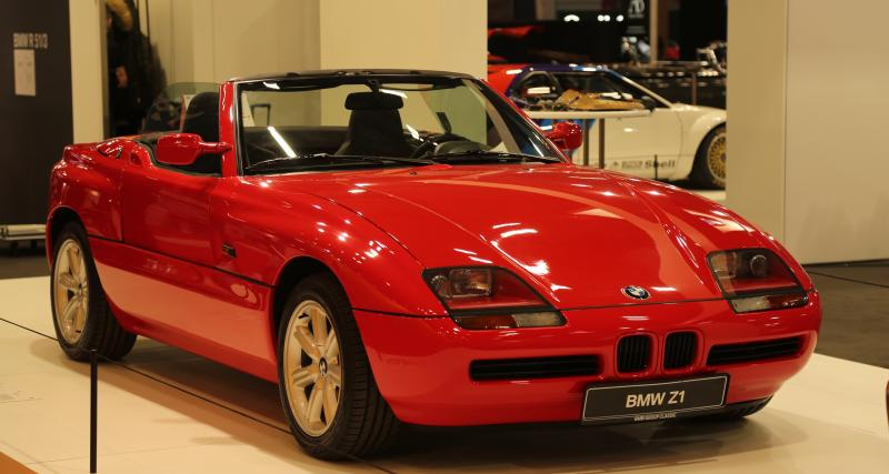 Rétromobile 2019 : nos photos du BMW Z1