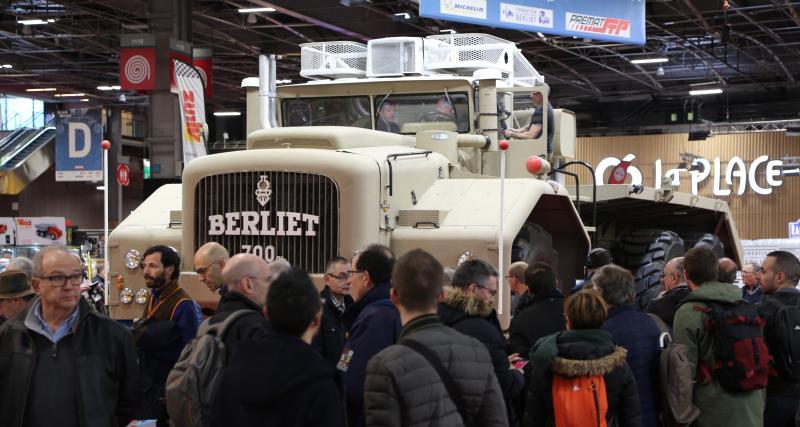 Rétromobile2019 : nos photos du gigantesque camion Berliet T100