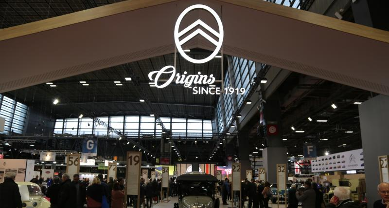 Rétromobile 2019 : nos photos du stand Citroën Origins