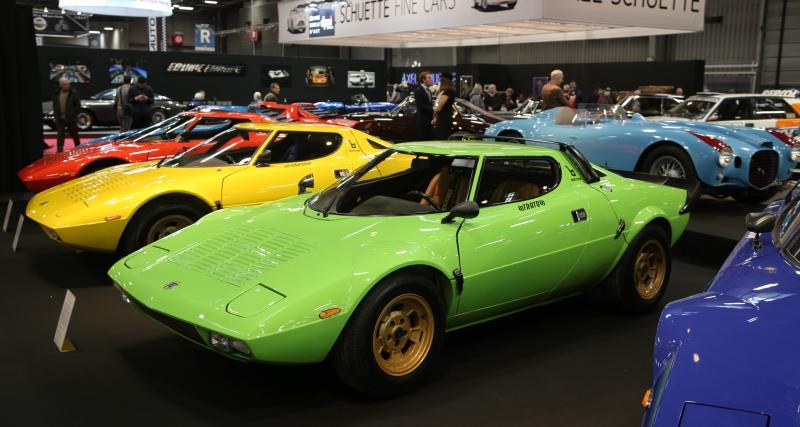 Rétromobile2019 : nos photos de la mythique Lancia Stratos