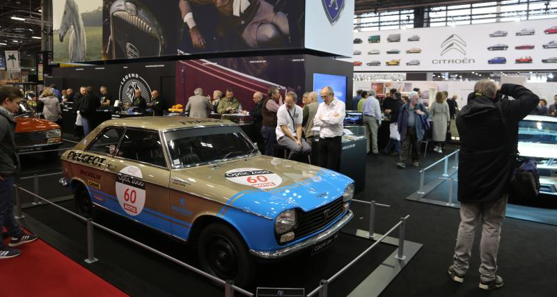 Rétromobile 2019 : nos photos du stand Peugeot