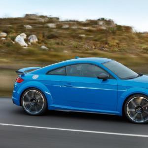 Audi TT RS restylée : toutes les photos de la version Coupé