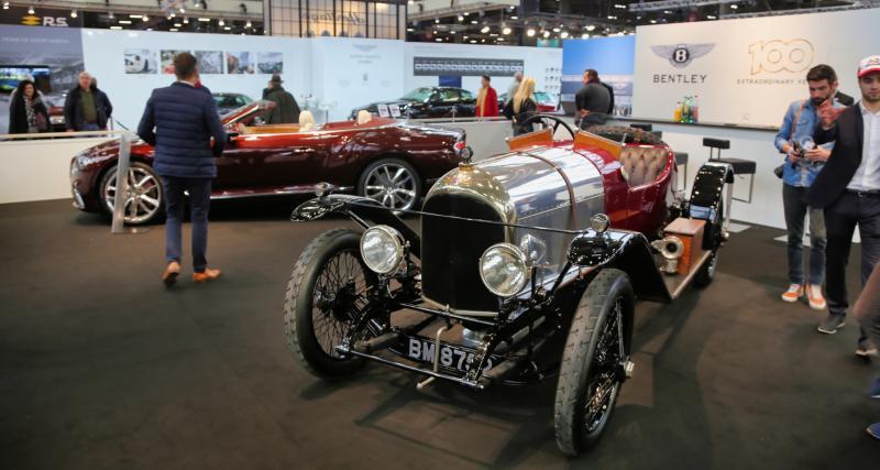 Rétromobile2019 : toutes nos photos des 100 ans de Bentley