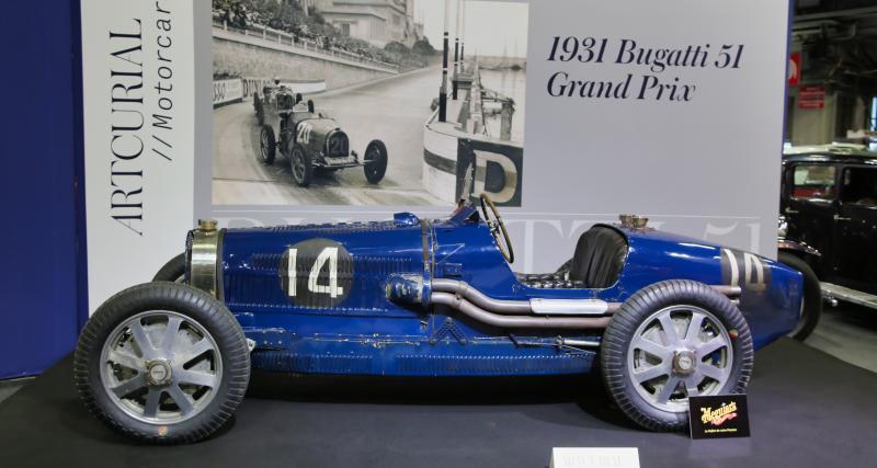 Rétromobile2019 : toutes nos photos de la Bugatti Type 51