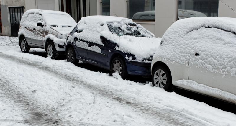 Flashée à 185 km/h sous la neige sur une route limitée à 55 km/h