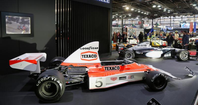 Richard Mille : nos photos de l'hommage à McLaren au Rétromobile 2019