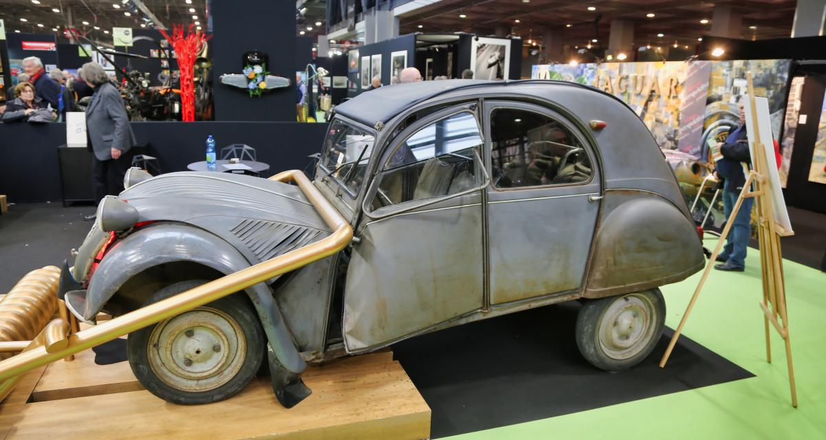 2CV « tapette à souris » : nos photos au Rétromobile 2019