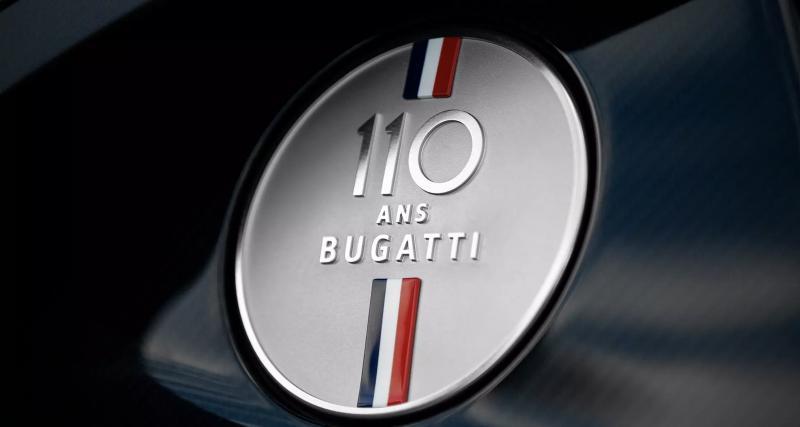 Bugatti Chiron Sport : toutes les photos de l'édition limitée 110 ans