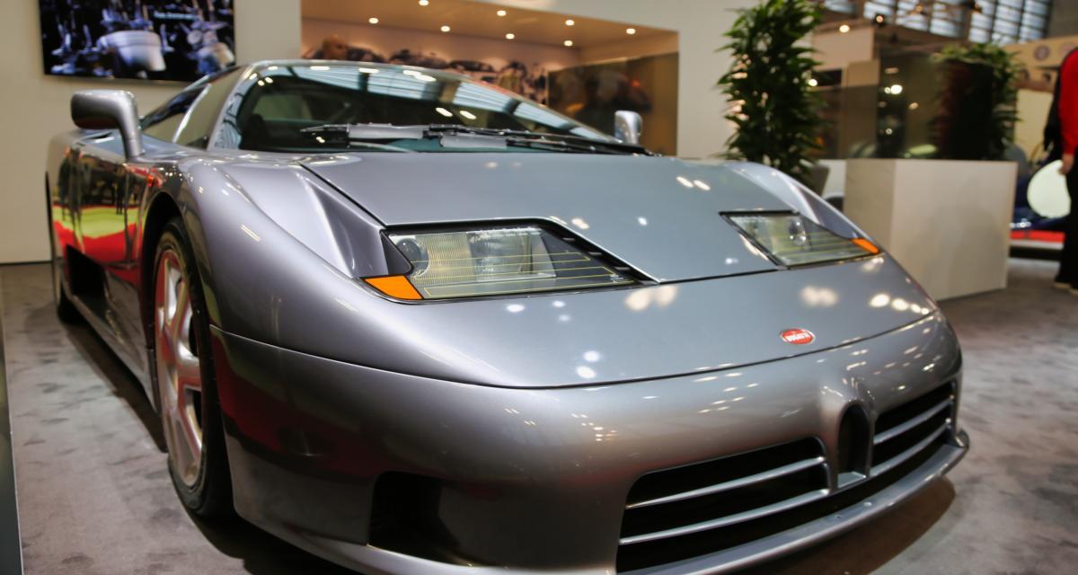 Bugatti : nos photos du stand au Rétromobile 2019