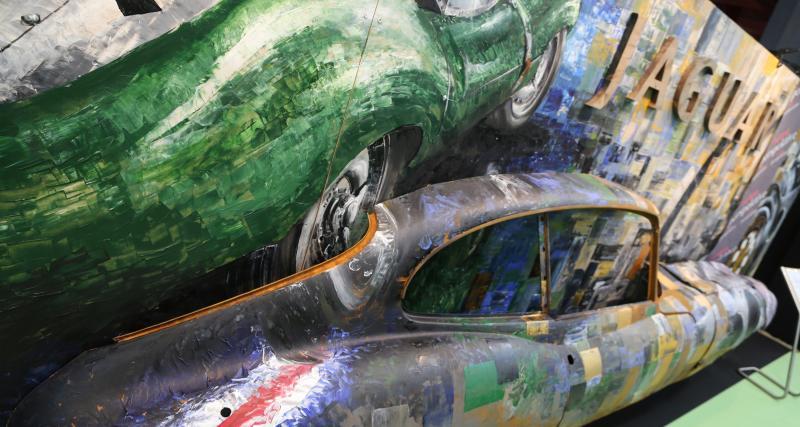 Galerie des artistes : nos photos de l'espace au Rétromobile 2019