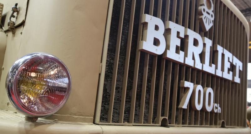 Berliet T100 : le gigantesque camion en vidéo au Rétromobile 2019