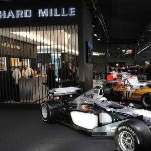 Richard Mille : photos et vidéo du stand de l'horloger au Rétromobile 2019