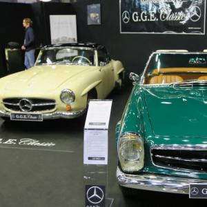 Mercedes GGE Classic : nos photos du stand au Rétomobile 2019