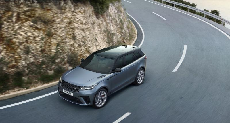 Range Rover Velar SVA : la version sportive du SUV en quatre points