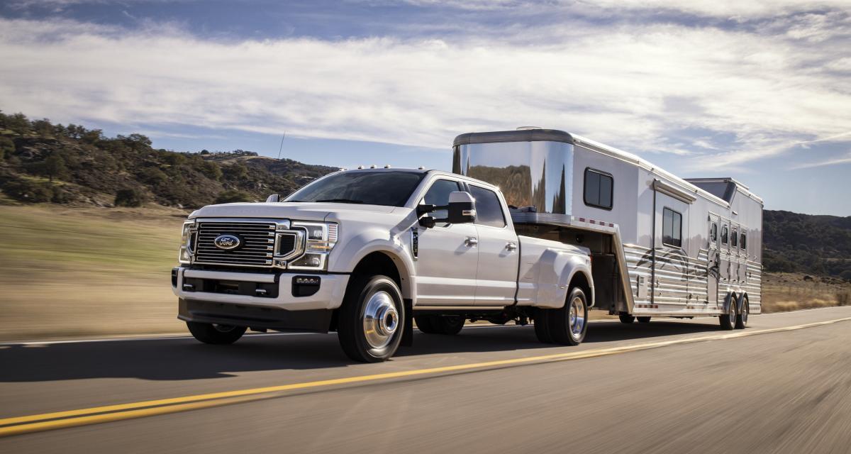 Ford Super Duty : les nouveaux pick-up en quatre points