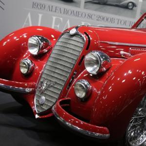 Vente aux enchères Artcurial au Rétromobile 2019 : 14,6 millions d'euros pour l'Alfa Romeo 8C