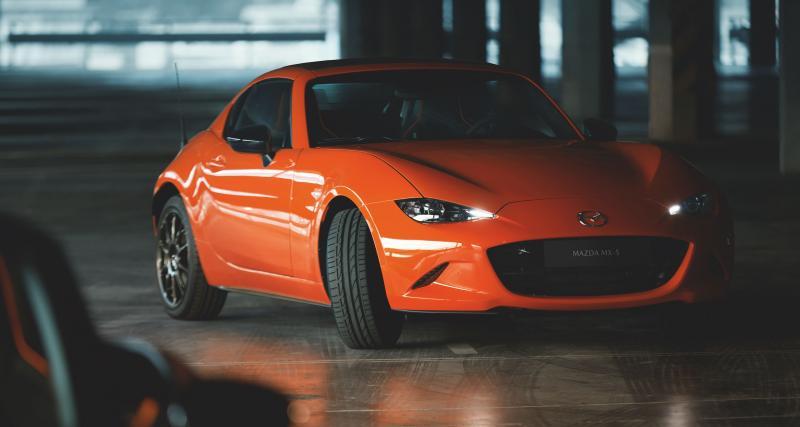 Mazda MX-5 : toutes les photos de la série spéciale 30ème anniversaire