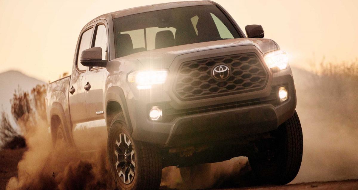 Toyota Tacoma : toutes les photos du nouveau pick-up