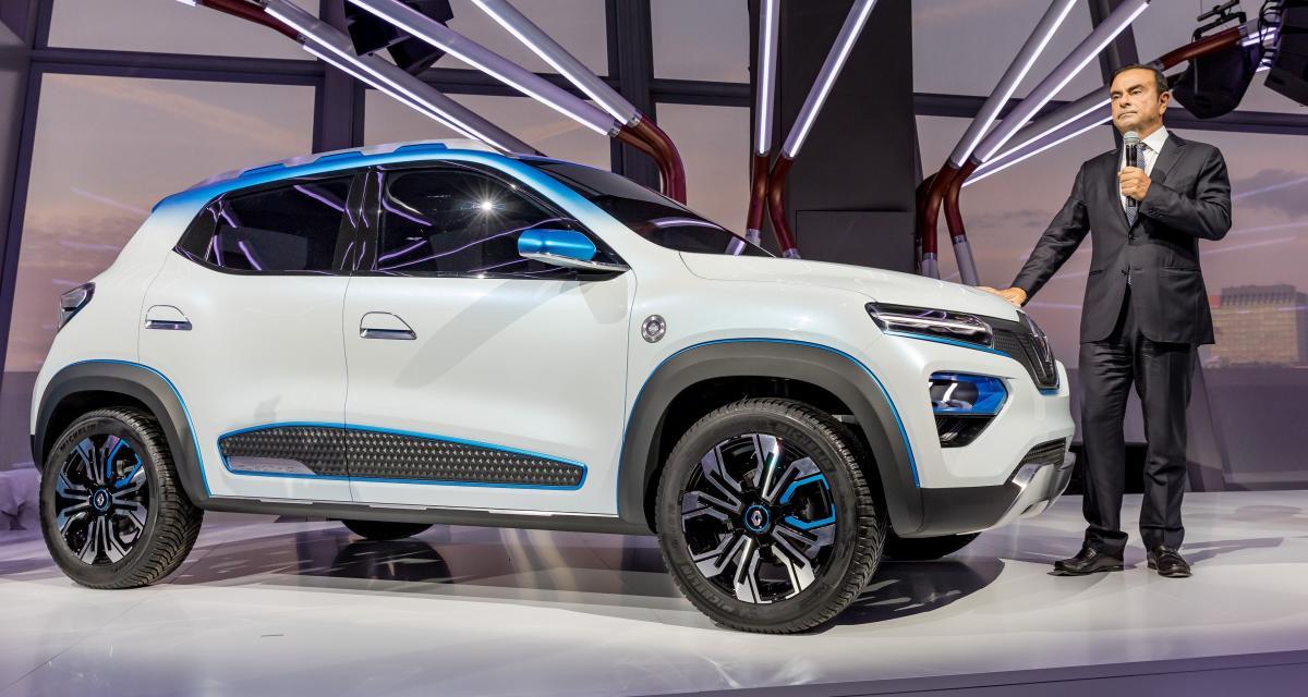 Renault K-ZE : un SUV urbain 100% électrique pour la Chine
