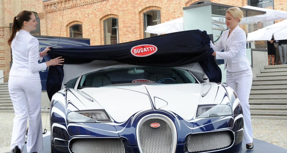 Au volant d'une Bugatti Veyron pour 5000 euros