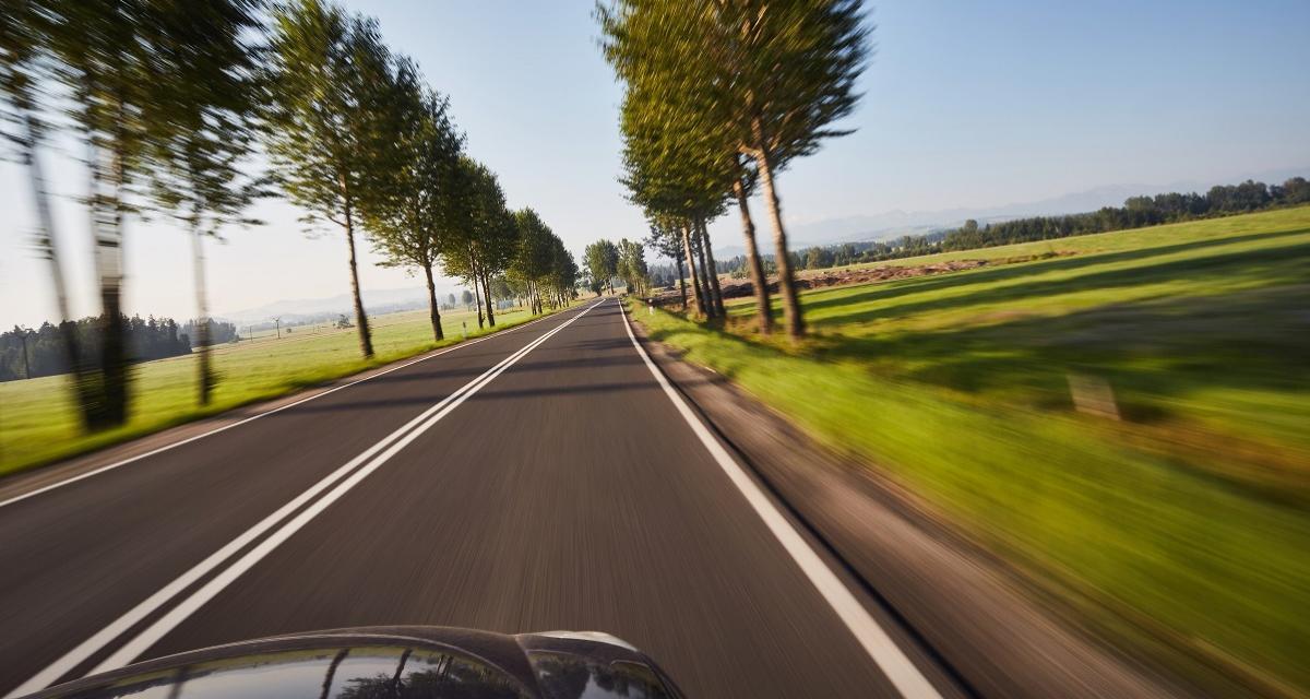 Flashé à 164 km/h en BMW sur une départementale