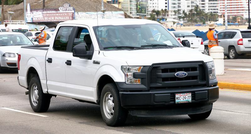 Flashé à 241 km/h en Ford F-150