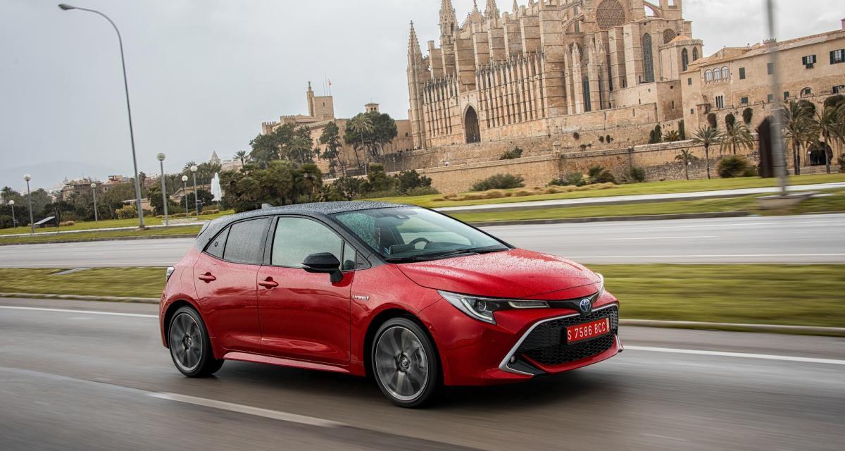 Essai Toyota Corolla: toutes les photos de notre essai à Majorque
