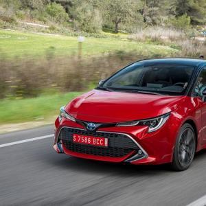 Retrouvez notre essai de la Nouvelle Toyota Corolla : toutes les photos