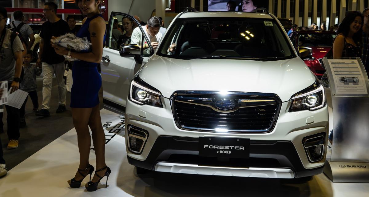 Salon de Genève 2019: Subaru présente deux modèles hybrides