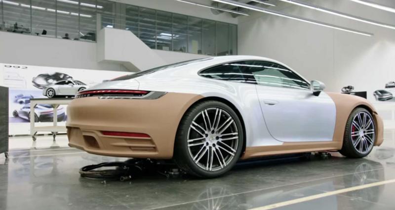 Un film de 90 minutes sur la conception de la nouvelle Porsche 911