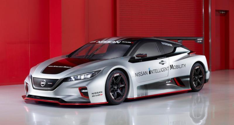 Nissan Leaf Nismo RC : la voiture de course 100% électrique sera au salon de Genève