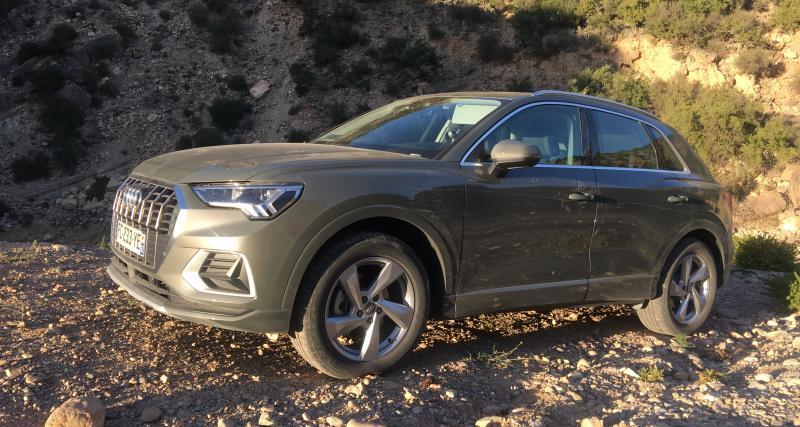 Essai Audi Q3 : nos photos de la version 2 roues motrices du SUV compact