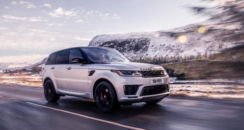 Range Rover SPORT HST : toutes les photos du SUV sportif