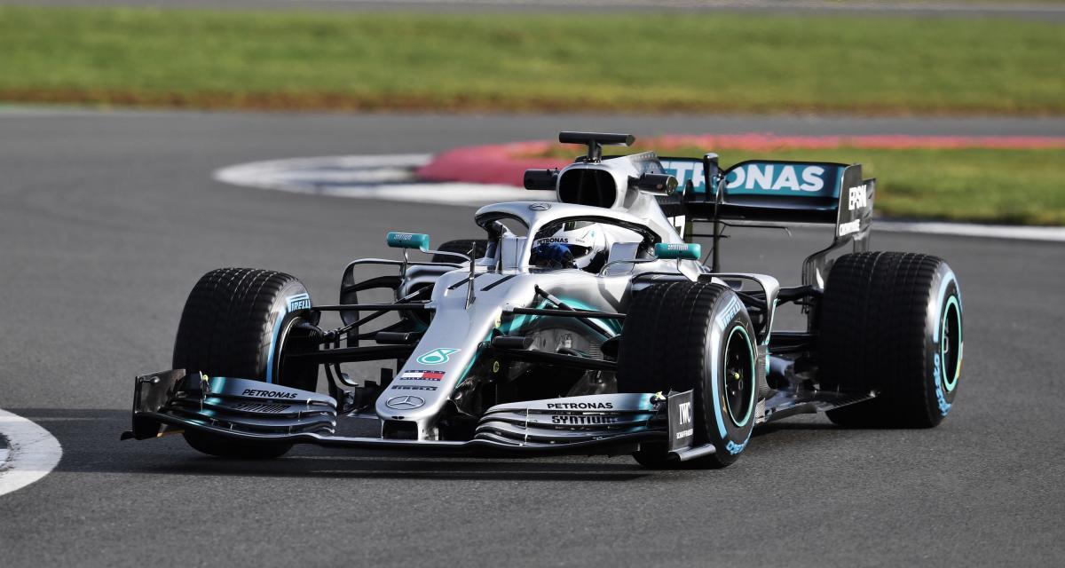 Formule 1 : toutes les photos de la monoplace Mercedes W10 EQ Power+