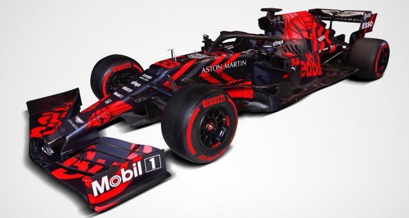 Formule 1 : toutes les photos de la monoplace Red Bull RB15
