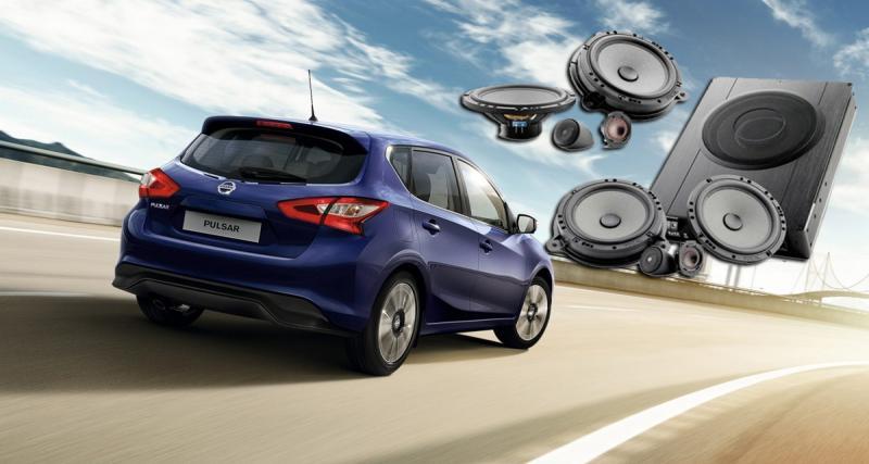 """Un système hi-fi Focal """"plug and play"""" pour le Nissan Pulsar"""