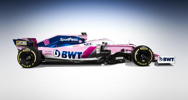 Formule 1 : toutes les photos de la monoplace de Racing Point Force India