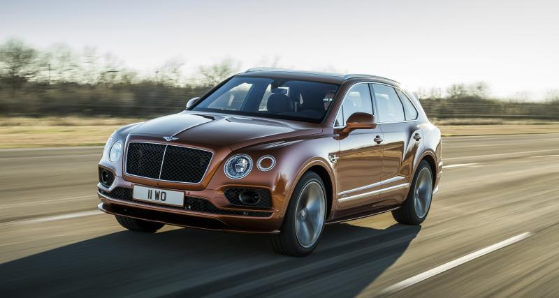Bentley Bentayga Speed : toutes les photos du SUV de luxe restylé