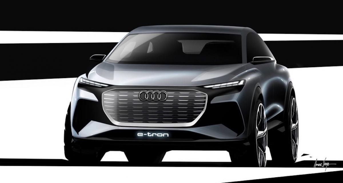 Audi Q4 e-tron : le SUV compact électrique sera présenté au salon de Genève