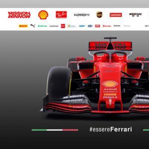 Formule 1 : toutes les photos de la nouvelle Ferrari SP90